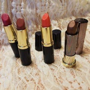4 piece Estee Lauder Lipsticks